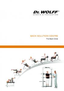 Back Solution Centre. The Back Circle