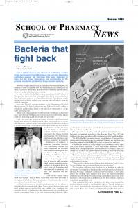 Bacteria that fight back