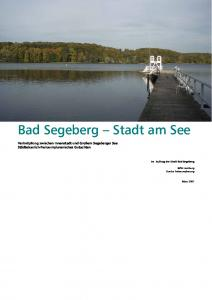 Bad Segeberg Stadt am See