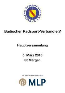 Badischer Radsport-Verband e.v