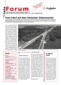 Bahn Freie Fahrt auf dem Schweizer Schienennetz!