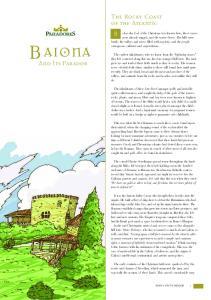 BAIONA. The Rocky Coast of the Atlantic. And Its Parador