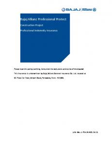 Bajaj Allianz Professional Protect
