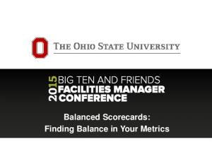 Balanced Scorecards: Finding Balance in Your Metrics