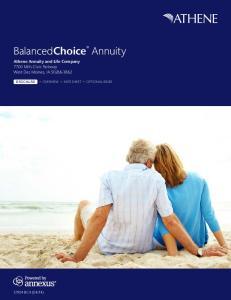 BalancedChoice Annuity