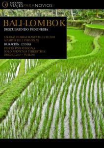 BALI-LOMBOK DESCUBRIENDO INDONESIA
