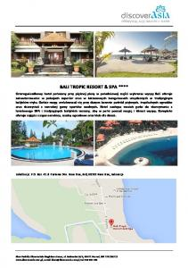 BALI TROPIC RESORT & SPA ****