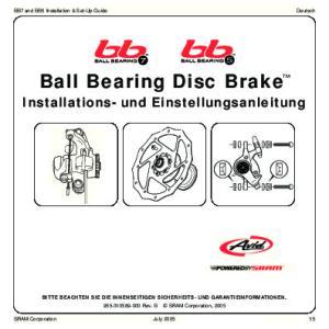 Ball Bearing Disc Brake TM