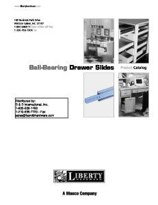 Ball-Bearing Drawer Slides