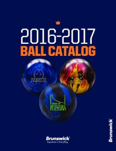 BALL CATALOG