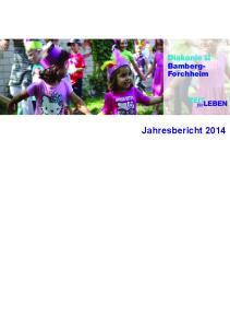 Bamberg- Forchheim. Jahresbericht 2014