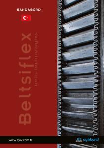 BANDABORD. Beltsiflex. belts technologies