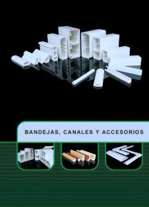 BANDEJAS, CANALES Y ACCESORIOS