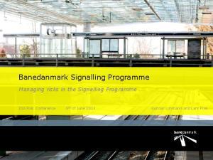 Banedanmark Signalling Programme