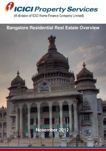 Bangalore Residential Real Estate Overview