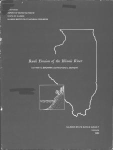 Bank Erosion of the Illinois River