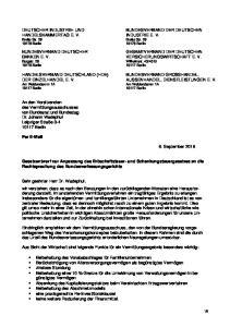 BANKEN E. V. VERSICHERUNGSWIRTSCHAFT E. V