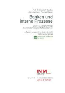 Banken und interne Prozesse
