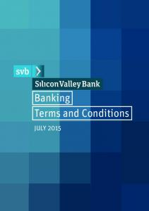 Banking Terms and Conditions