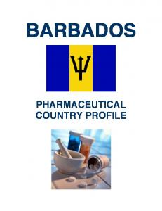 BARBADOS PHARMACEUTICAL COUNTRY PROFILE