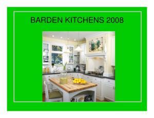 BARDEN KITCHENS 2008
