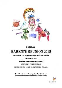 BARENTS REUNION 2015