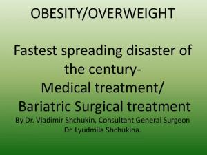 Bariatric Surgical treatment