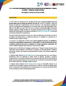 Barranquilla, 11 de Marzo al 18 Junio de 2016