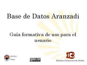 Base de Datos Aranzadi