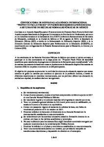 BASES. 1. Requisitos de los aspirantes