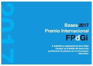 Bases 2017 Premio Internacional