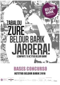BASES CONCURSO ACTITUD BELDUR BARIK 2016