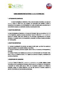 BASES CONCURSO FIESTAS PATRIAS DECORA TU VITRINA 2016