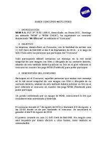 BASES CONCURSO #MIFILTROES