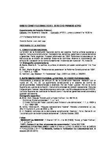 BASES CONSTITUCIONALES DEL DERECHO PRIVADO (CPO)