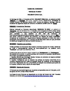 BASES DEL CONCURSO EMBOLSA TU IDEA WALMART CHILE S.A