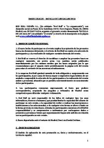 BASES LEGALES BATALLA DE LOS GALLOS 2016