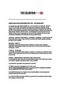BASES LEGALES DEL CONCURSO SKITTLES THE COLOR RUN