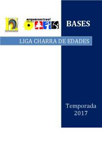 BASES LIGA CHARRA DE EDADES