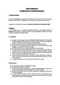 BASES PROMOCION PROMOCION CHIP PREPAGO MOVISTAR