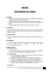 BASES SEGUIDOR DE LINEA