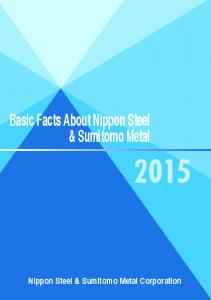 Basic Facts About Nippon Steel & Sumitomo Metal