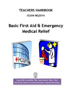 Basic First Aid & Emergency Medical Relief