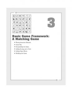 Basic Game Framework: A Matching Game