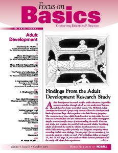 Basics Adult Development