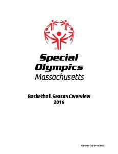 Basketball Season Overview 2016