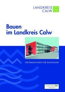 Bauen im Landkreis Calw