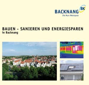 BAUEN - SANIEREN UND ENERGIESPAREN. in Backnang