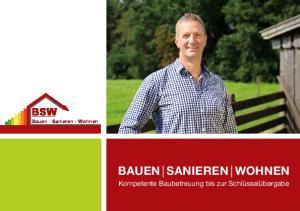 BAUEN SANIEREN WOHNEN