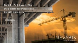 BauShop. Roland Sommer Thorsten Wenzel